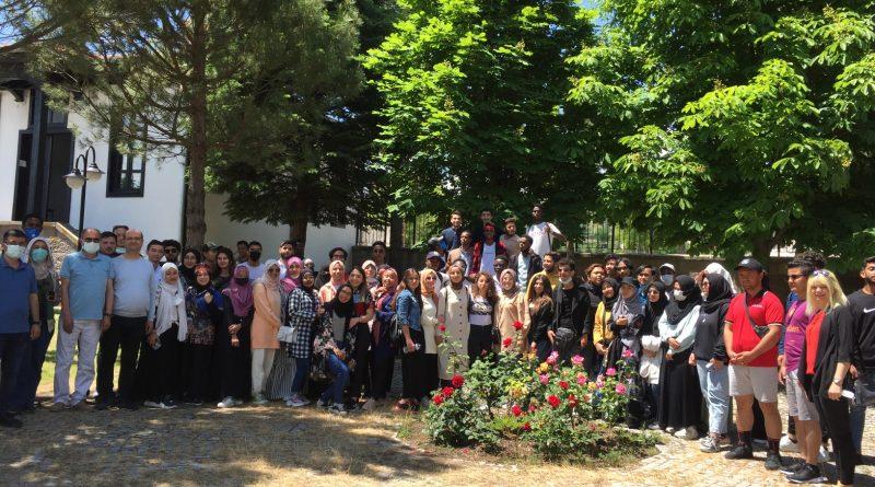 15 ÜLKEDEN 100 YABANCI ÖĞRENCİMİZİ MİSAFİR ETTİK