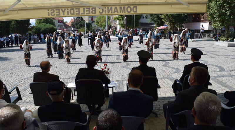 Domaniç'te 30 Ağustos Zafer Bayramı'nın 99' ncu yılı coşkuyla kutlandı