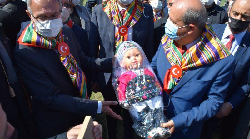 Hayme Ana'yı Anma ve Göç Şenliklerimiz KKTC Cumhurbaşkanımız Ersin Tatar'ın katılımı ile gerçekleşti